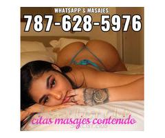 Citas masajes contenido apartamento incluido WhatsApp 7876285976