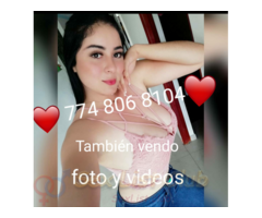 774 806 8104 WhatsApp espero tu lindo mensaje amor 100 real y seguro