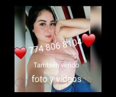 774 806 8104 WhatsApp disponible en tu zona amor te espero baby