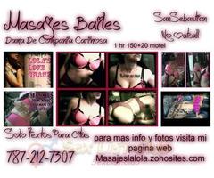 Masaje Baile de falda Besos y mas Dama de compania carinosa